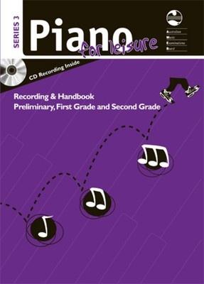 AMEB PIANO FOR LEISURE PRELIM TO GR 2 SERIES 3 CD HANDBOOK