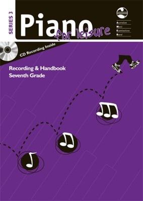 AMEB PIANO FOR LEISURE GRADE 7 SERIES 3 CD HANDBOOK