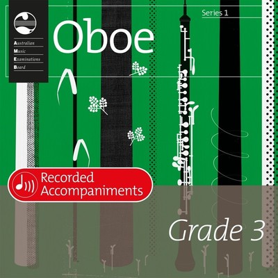 Oboe Series 1 Grade 3 Recorded Accompaniments