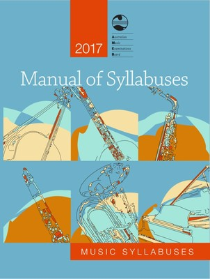 AMEB 2017 MANUAL OF SYLLABUSES