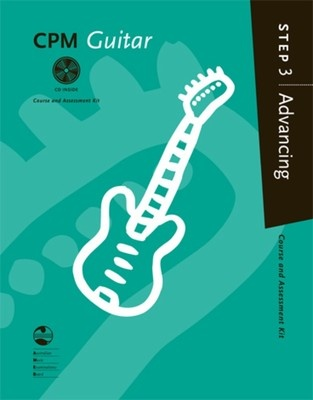 CPM GUITAR ADVANCING STEP 3 BK/CD AMEB