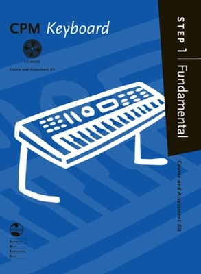 CPM KEYBOARD FUNDAMENTAL STEP 1 BK/CD AMEB