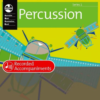 PERCUSSION GRADE 1 SERIES 1 RECORDED ACCOMP CD