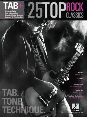 25 TOP ROCK CLASSICS GUITAR TAB PLUS