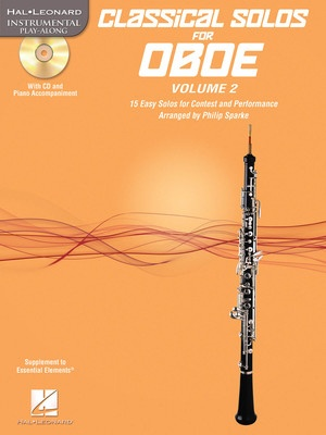 CLASSICAL SOLOS FOR OBOE V2 BK/CD