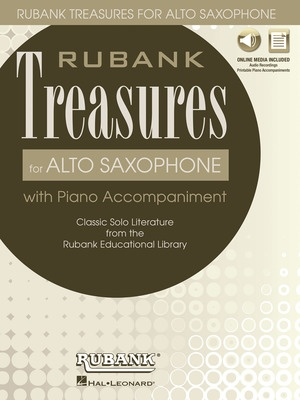 Rubank Treasures for Alto Saxophone