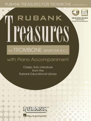 Rubank Treasures for Trombone (Baritone B.C.)