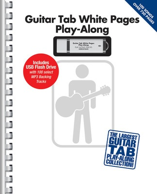 GUITAR TAB WHITE PAGES PLAY ALONG BK/USB