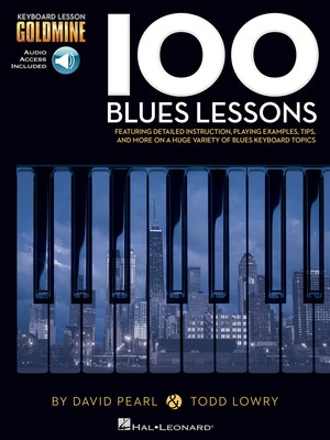 100 BLUES LESSONS GOLDMINE KEYBOARD