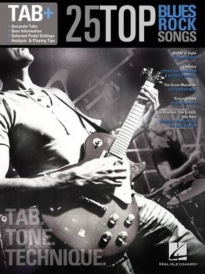 25 TOP BLUES/ROCK SONGS GUITAR TAB PLUS