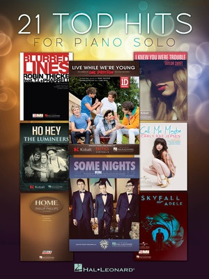 21 TOP HITS FOR PIANO SOLO