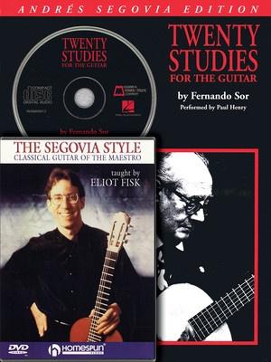 SEGOVIA GUITAR BUNDLE PACK BK/CD/DVD