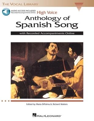 ANTHOLOGY OF SPANISH SONG HIGH VOICE BK/2CD