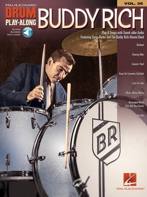 BUDDY RICH DRUM PLAYALONG V35 BK/OLA