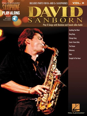 DAVID SANBORN SAX PLAYALONG V8 BK/OLA