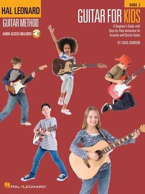 HL GUITAR FOR KIDS METHOD BK 2 BK/OLA