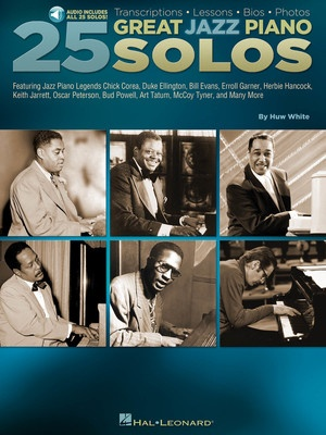 25 GREAT JAZZ PIANO SOLOS BK/OLA