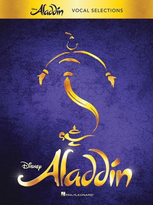 Cheap music books aladdin broadway musical vocal selections fandeluxe Choice Image