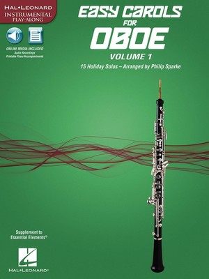 EASY CAROLS FOR OBOE VOL 1 BK/OLA