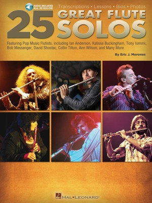 25 GREAT FLUTE SOLOS BK/OLA