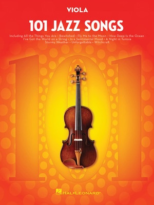 101 JAZZ SONGS FOR VIOLA