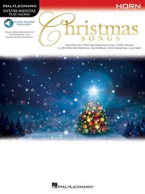 CHRISTMAS SONGS HORN BK/OLA