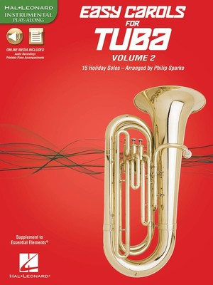 EASY CAROLS FOR TUBA VOL 2 BK/OLM