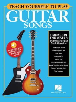 TEACH YOURSELF GUITAR SMOKE ON THE WATER BK/OLM