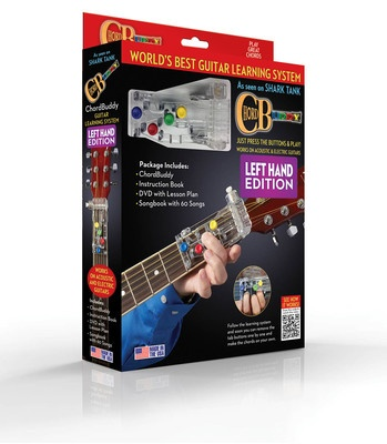 CHORDBUDDY LEFT HANDED GUITAR LEARNING BOXED SYSTEM
