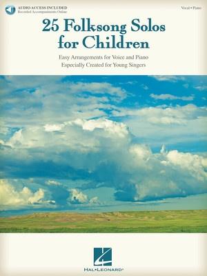 25 FOLKSONG SOLOS FOR CHILDREN BK/OLA
