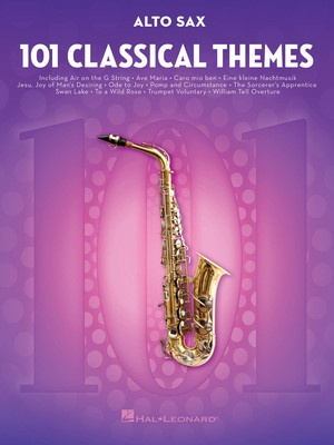 101 Classical Themes for Alto Sax