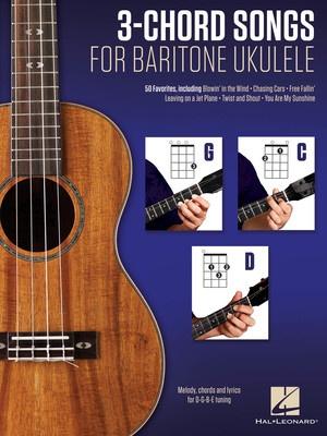 3 CHORD SONGS FOR BARITONE UKULELE  G C D