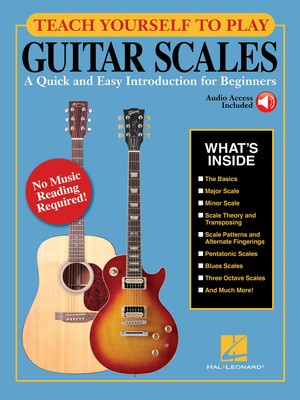 TEACH YOURSELF TO PLAY GUITAR SCALES BK/OLA