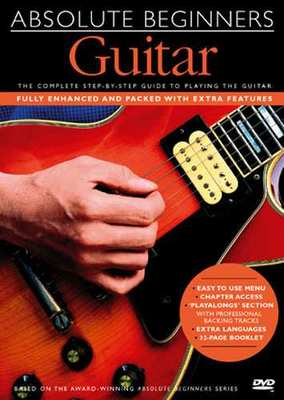 ABSOLUTE BEGINNERS GUITAR METHOD DVD