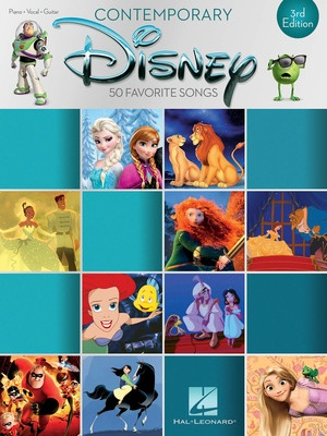 CONTEMPORARY DISNEY 50 FAVORITE SONGS 3RD EDITION