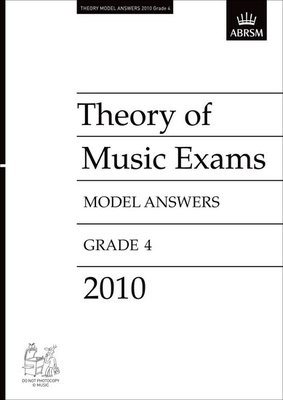 A B THEORY OF MUSIC ANSWERS GR 4 2010