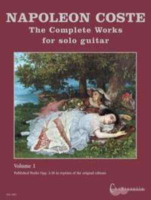 COSTE   COMPLETE WORKS SOLO GUITAR VOL 1