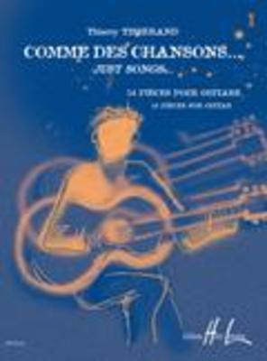 COMME DES CHANSONS BK 1 GUITAR