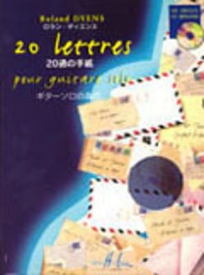 20 LETTRES POUR GUITAR SOLO