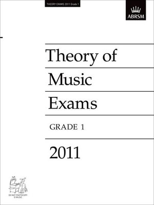A B THEORY OF MUSIC PAPER GR 1 2011