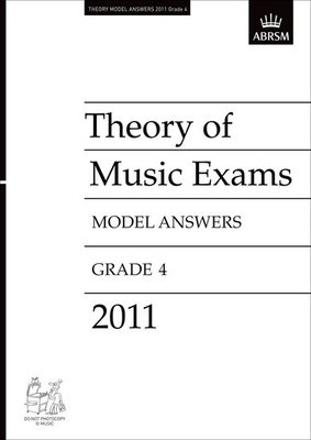 A B THEORY OF MUSIC ANSWERS GR 4 2011