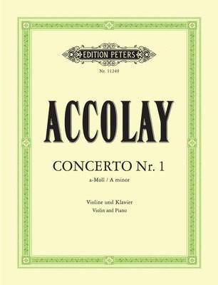 ACCOLAY   CONCERTO NO 1 A MINOR VIOLIN/PIANO