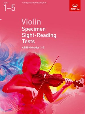 A B VIOLIN SPECIMEN SIGHT READING GRS 1 5 2012