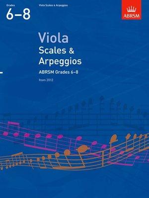 A B VLA SCALES & ARPEGGIOS GR 6 8 FROM 2012