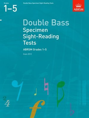 A B DB SPECIMEN SIGHT READING GR 1 5 FROM 2012