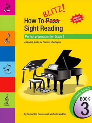 HOW TO BLITZ SIGHT READING BK 3 GR 5