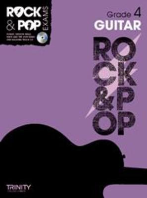 ROCK & POP EXAMS GUITAR GR 4 BK/CD