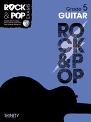 ROCK & POP EXAMS GUITAR GR 5 BK/CD