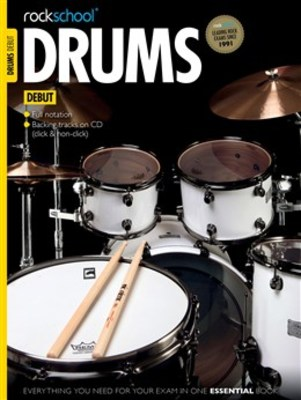 ROCKSCHOOL DRUMS DEBUT BK/CD 2012   2018