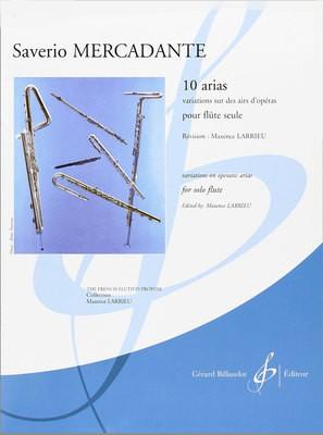 10 ARIAS VARIATIONS SUR DES AIRS DOPERAS SOLO FL